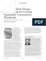 Review Dynamic Urban Design