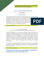 Tema 2 Definición e Importancia de La Merceología, e Importancia de La Clasificación Arancelaria y Elementos Auxiliares