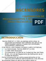 b.2.- Ascensores - Comparativa de Procedimientos y Resultado Clase 01