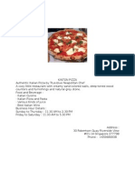 Kinton Pizza