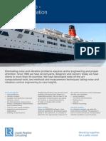 213-35533 Engineering Dynamics - Passenger Ship Noise and Vibration