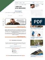 Consultar Paginas Web Offline Con Httrack