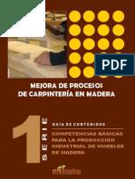 Mejora de Procesos de Carpintería en Madera