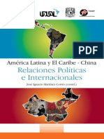 Relaciones Politicas China AL
