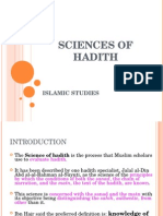 Chapter 1.3 - An Introduction to the Science of Hadîth (1)