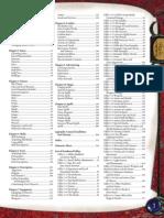 d&d 3.5 Jugador Index