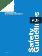 Safety Guidelines Passenger Non Passenger Vessels