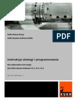 Robot_KUKA KRC2 Instrukcja Programowania