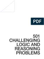 501challenginglogicandreasoningproblems2ndedition