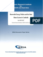 Renewable Energy Policies and the Solar Home System in Cambodia, by Han Phoumin