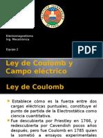 Ley de Coulomb y Campo Eléctrico