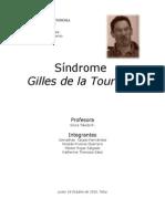 Trastorno Gilles Tourette Informe (2003)