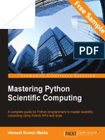 Mastering Python Scientific Computing - Sample Chapter