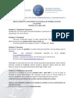 Regulament ALLEGRIA 2014 2015