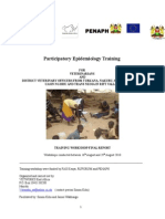 Participatory Epidemiology Training