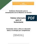 BM06 CIVICA y ETICA Educacion Basica