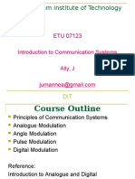 Introduction to Communication System-lecture1