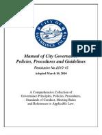 Bainbridge Governance Manual