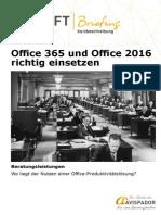MSFTbriefing Leistungsbeschreibung