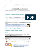 Crear Un Documento Blogger