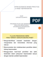 EBP Dalam Pendidikan Keperawatan