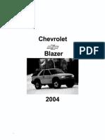 Chevrolet S10 Blazer Diagrams 1983 2005 Ignition System Color