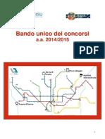 BANDO Lazio Disu 2014