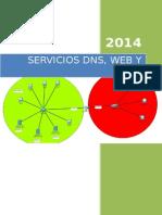 Servidores Dns_ Web y Dhcp Compartidos Por Dos Redes