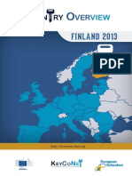Country Overview Finland 2013