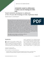 Desarrollo de la orientación sexual en adolescentes de 16 a 18 años de ambos sexos de Santiago de Chile. Estudio Exploratorio - art04