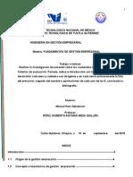 Investigacion Documental de Gestion Empresarial
