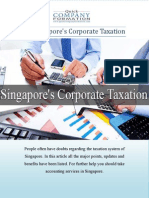 All about Singapore's Corporate Taxation