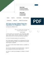 Linux Admin Qus3