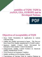 Acceptability of TQM