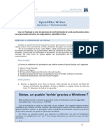 OpenOffice Writer Ejercicios Nivel Intermedio 1 Al 7