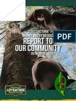 Moonee Valley District Scouts - Annual Report 2014-2015