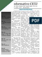 Informativo Agosto de 2015
