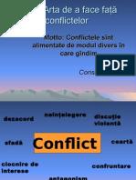Trainigul conflictele
