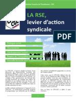 CFE-CGC - La RSE Levier d'Action Syndicale