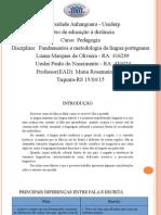 Atps-Fundamentos e Metodologia Da Lingua Portuguesa