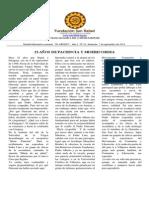 Boletin El Abrazo Nro. 10 - 07.09.2014
