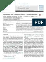 Comparative Study of turbulence models