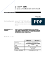 (Doc3) Ficha Tecnica 3M VHB G23F y B23F