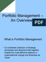 portfoliomanagementanoverview-12602737362869-phpapp01