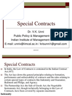 Special Contracts PGPEX