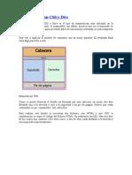 Maquetación Con CSS y Divs