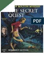 Judy Bolton #33 The Secret Quest