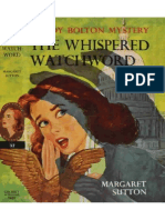Judy Bolton #32 The Whispered Watchword