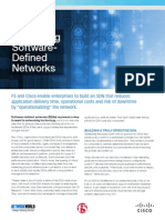 Rethinking Software Defined Networks