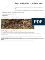Wood Chips, Pellets, And Other Bulk Biomass Combustion From B&W Vølund
